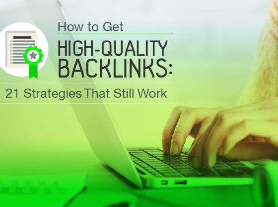 high quality backlinks for SEO