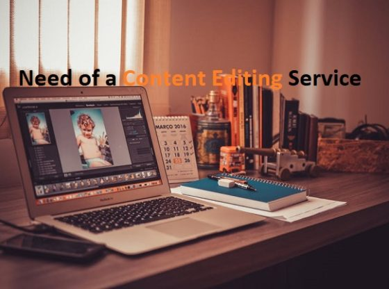 Need of Content Editing Service