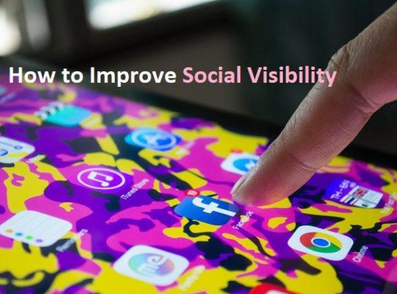 improve social media visibility