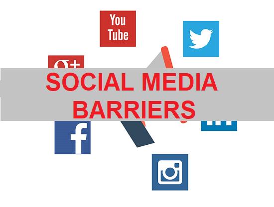 Social Media Barriers