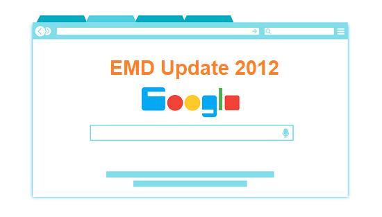 Google EMD Update 2012