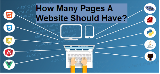 How many Pages a Website Should Have