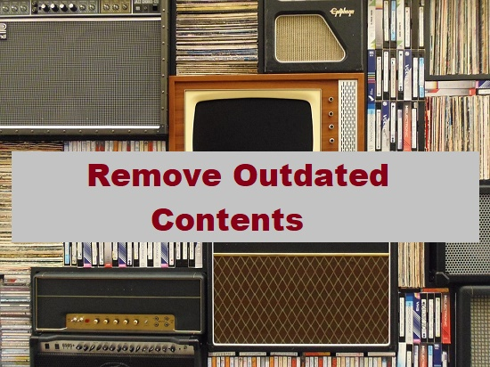 Remove Outdated Contents