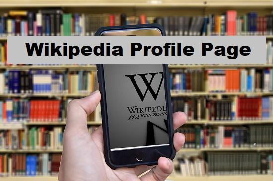 create business wikipedia profile page