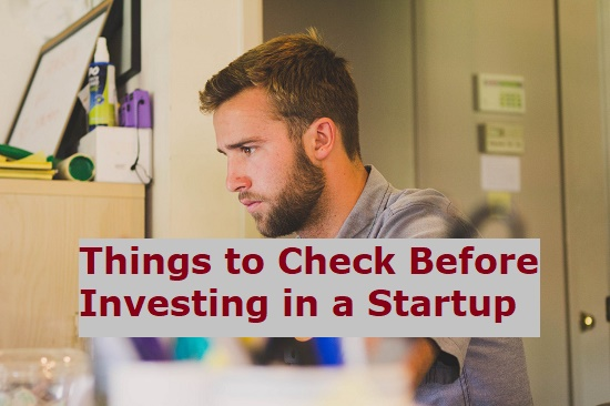 Invest in a startup