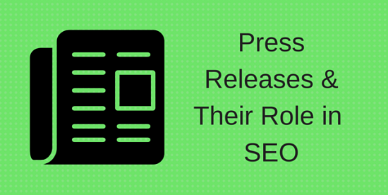 Importance of press releases in SEO
