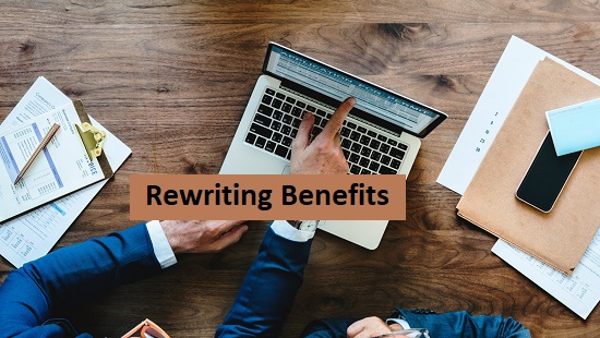 Website Content Rewriting Benefits for SEO