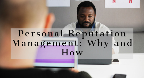 Online Personal Reputation Management Services India