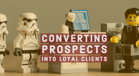 Turning Prospects into Paying customers