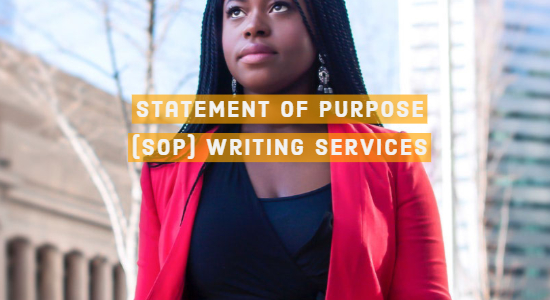 Statement of Purpose Writing Services India