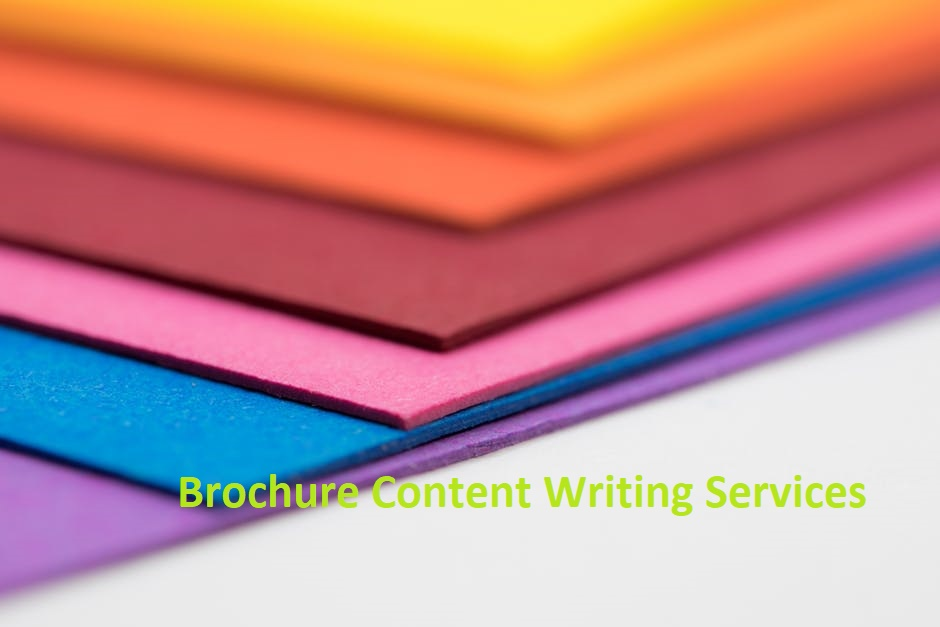 Brochure Content Writing Services India
