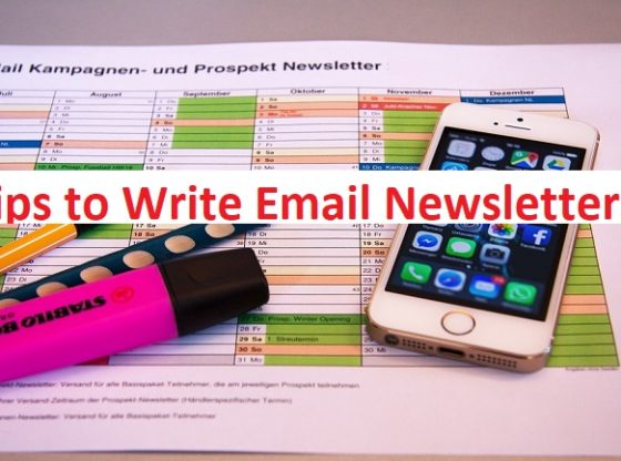 Tips to Write NewsLetters