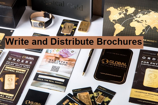 Brochure Writing Tips to Support Online Marketing