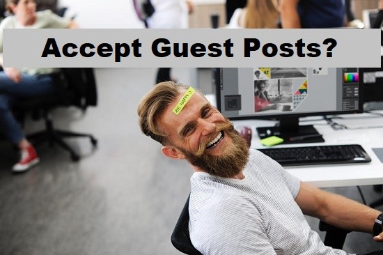 Do you accept guest posts
