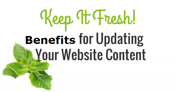 Content Keeps your Website Fresh