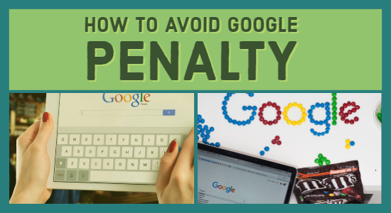 Avoid Google Penalty