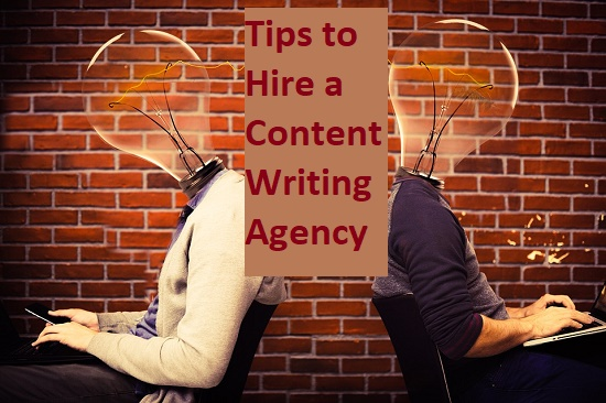 Hiring a content writing agency in India