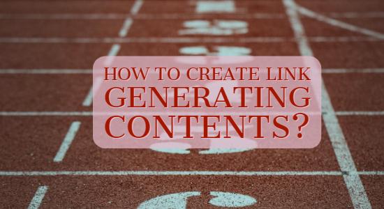 Link Generating Contents