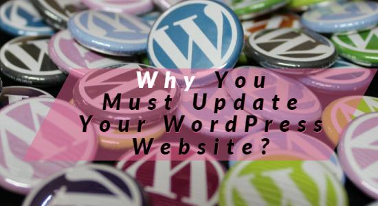 update WordPress websites Now
