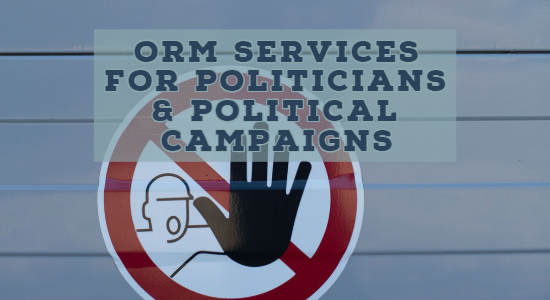 ORM services for Politicians, Political Parties & Political Campaigns