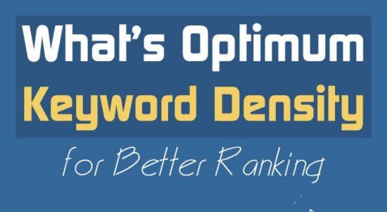 Optimum Keyword Density to Improve Rankings